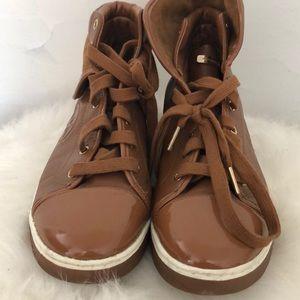 Brown Michael Kors Sneakers